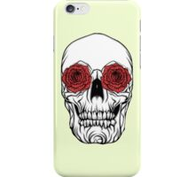 Skull and Roses iPhone Case/Skin