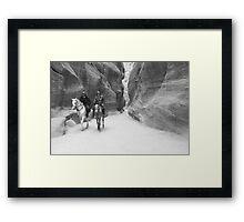 Mounted Patrol Framed Print
