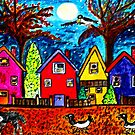 Baba Black Birds Go Home by Monica Engeler