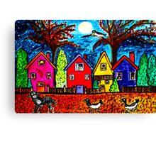 Baba Black Birds Go Home Canvas Print