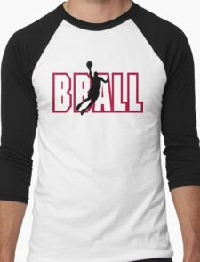 "Basketball ""BBALL"" Men's Baseball ¾ T-Shirt"