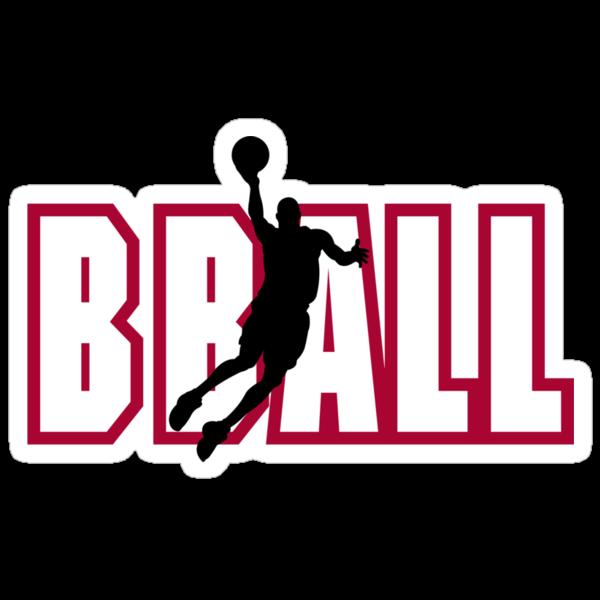 "Basketball ""BBALL"" by SportsT-Shirts"