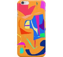 Late Afternoon Eating Orange Swimming Pool iPhone Case/Skin