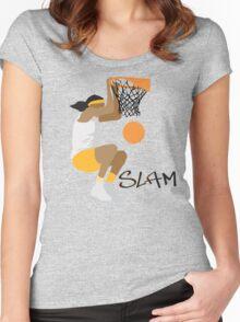 Women's Basketball Women's Fitted Scoop T-Shirt