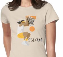 Women's Basketball Womens Fitted T-Shirt