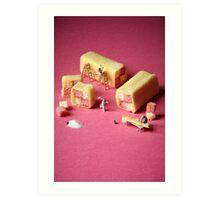 Battenberg builders Art Print