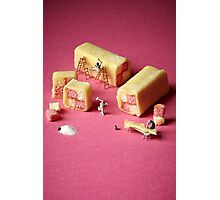 Battenberg builders Photographic Print