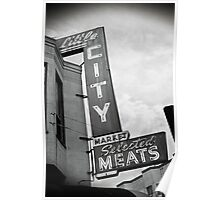Little City Selected Meats Poster