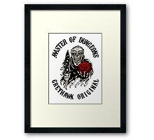 Master of Dungeons - Greyhawk Original Framed Print