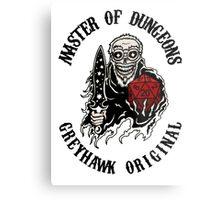 Master of Dungeons - Greyhawk Original Metal Print