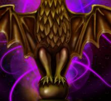 Haunted Mansion Bat Stanton Design by Topher Adam Sticker