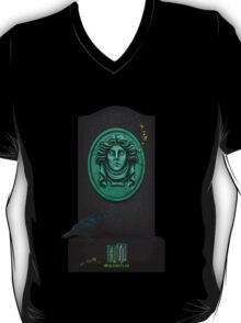 Madame Leota, the spirit we all know and love from the Haunted Mansion by Topher Adam T-Shirt