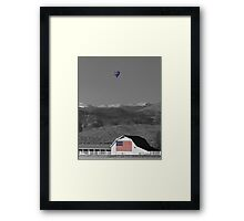America The Beautiful The Banner Of The Free BWSC Framed Print