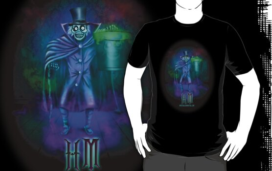 Haunted Mansion Hatbox Ghosts by Topher Adam by Hugs & Bitchslaps SX Couture