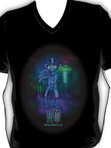 Haunted Mansion Hatbox Ghosts by Topher Adam T-Shirt