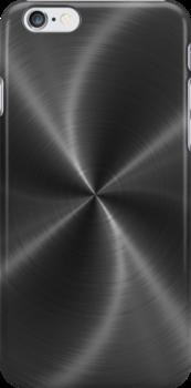 Dark Gray Stainless Shiny Steel Metal Look by Nhan Ngo