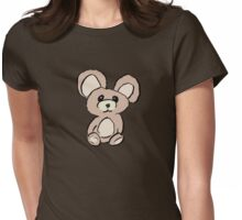 Stuffed Beary Womens Fitted T-Shirt