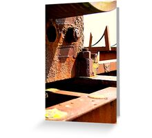 a36)hardened Greeting Card