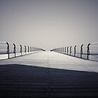 Looking down the Pier by Phillip Shannon