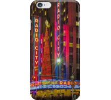 Radio City Music Hall, Study 1 iPhone Case/Skin