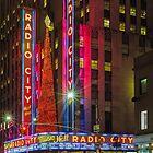 Radio City Music Hall, Study 1 by Randy  LeMoine