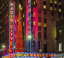 Radio City Music Hall, Study 1 by Randy  LeMoine