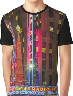 Radio City Music Hall, Study 1 Graphic T-Shirt
