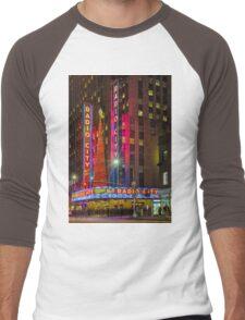 Radio City Music Hall, Study 1 Men's Baseball ¾ T-Shirt