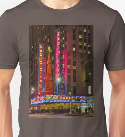 Radio City Music Hall, Study 1 Unisex T-Shirt