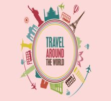 travel around the world One Piece - Long Sleeve