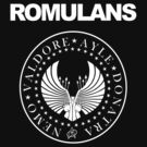 "Romulans Star Trek "" Ramones logo""  by BUB THE ZOMBIE"