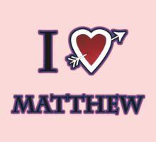i love matthew heart  One Piece - Short Sleeve