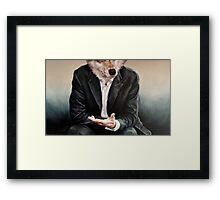 the politician Framed Print
