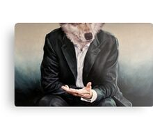 the politician Metal Print
