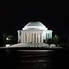 Thomas Jefferson Memorial by Barrie Woodward
