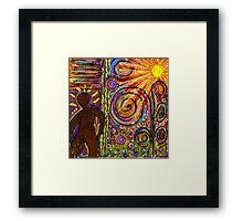 Man in the Sun-FINAL Framed Print