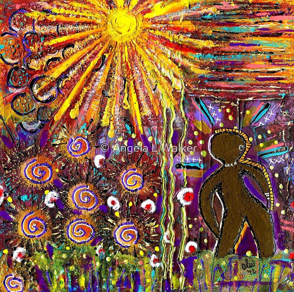 Woman in the Sun-FINAL by © Angela L Walker