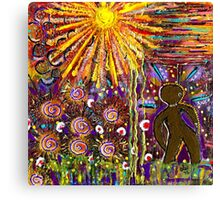Woman in the Sun-FINAL Canvas Print