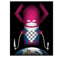 Galactus Photographic Print