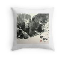 Edge of the Canyon, Canyon de Chelly Throw Pillow