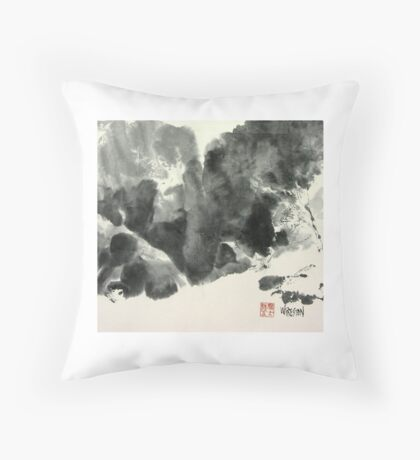 Edge of the Canyon, Canyon de Chelly Throw Pillow