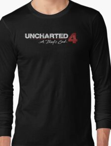 UNCHARTED 4: A Thief's End Long Sleeve T-Shirt
