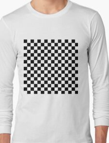 Checks, checkered, check it out! Long Sleeve T-Shirt