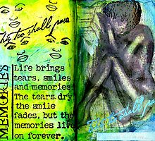 Remembering My Son -  Art Journal Entry by © Angela L Walker