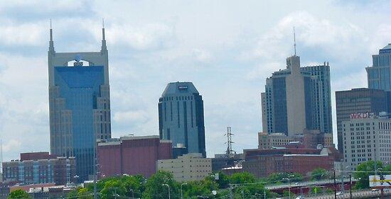 Memphis Skyline by skyhat