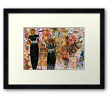 Through Thick and Thin Framed Print