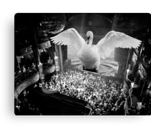 The Koko Swan (Surrational) Canvas Print