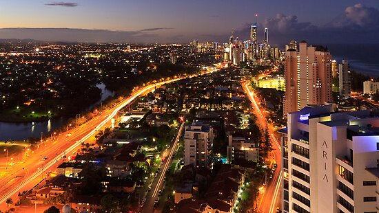Gold Coast, Queensland by burrster