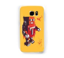 Red Tin Robot Splattery Shirt or iPhone Case Samsung Galaxy Case/Skin