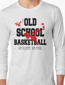 Old School Basketball Long Sleeve T-Shirt